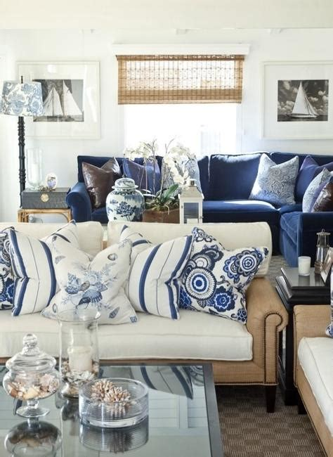 nautical themed living room modern house modern interior decorating with blue stripes and nautical