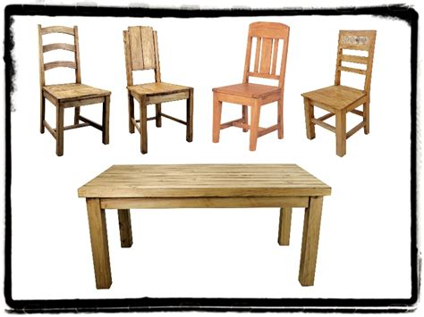 rustic dining room sets mexican rustic furniture and