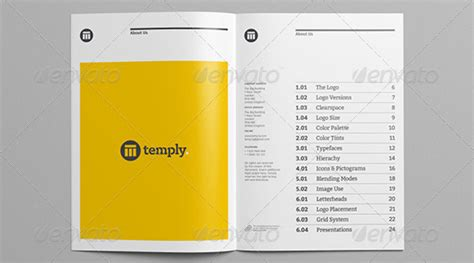 21 Great Book Indesign Templates Desiznworld Brand Manual Template