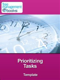 prioritizing tasks template prioritizing tasks template