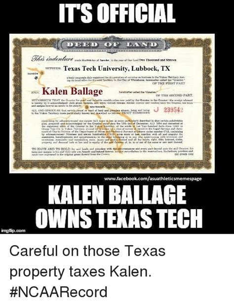 Texas Tech Memes - tax deeds meme bing images