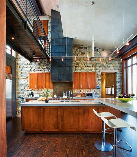modern mountain home modern kitchen charlotte by the bridge contemporary mountain retreat in telluride