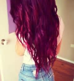 reddish purple hair color different tones of purple hair hair