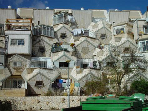 israel housing dror bar natan s image gallery jerusalem dodecahedral housing in ramot