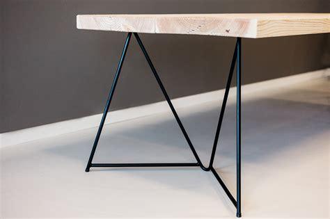 tafel onderstel staal tafelonderstel zwart gepoedercoat staal eigenzinnig