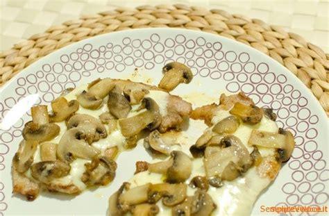 come cucinare le scaloppine ai funghi scaloppine ai funghi ricetta semplice e veloce