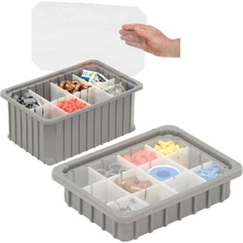 rugged storage containers bins totes containers containers dividable grid dandux rugged dividable stackable