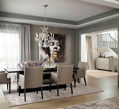 transitional dining room transitional