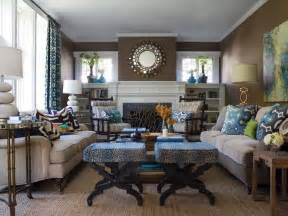 Living Room Decor In Blue And Brown Hgtv S Favorite Trends To Try In 2015 Interior Design