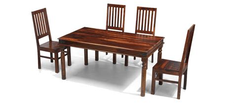 Jali Dining Table And Chairs Jali Sheesham 160 Cm Thakat Dining Table And 4 Chairs Quercus Living