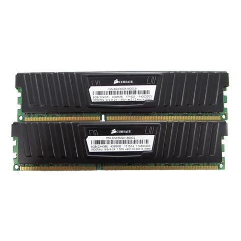 Ram Corsair Vengeance 2x4gb 8gb 2x4gb corsair vengeance lp cml8gx3m2a1600c9 1600mhz ddr3 desktop memory ram memory