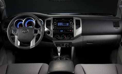 Toyota Tacoma Interior by Car And Driver