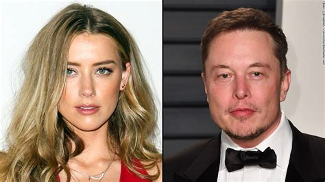 elon musk now and then amber heard and elon musk are over cnn