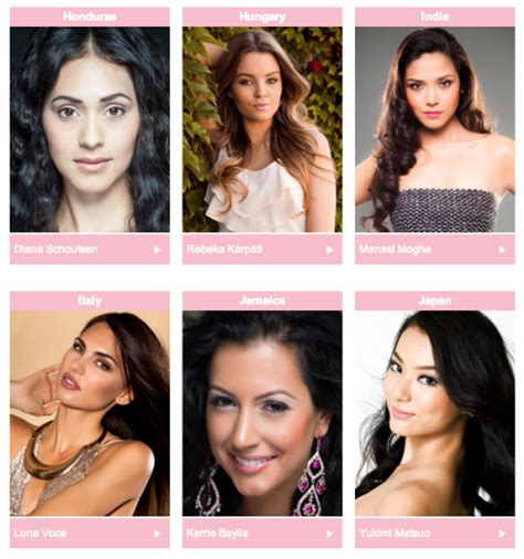 We A Miss Universe Contestant by Meet The 2013 Miss Universe Contestants