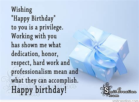 Happy Birthday Wishes For Respected Person Birthday Wishes For Colleague Pictures And Graphics
