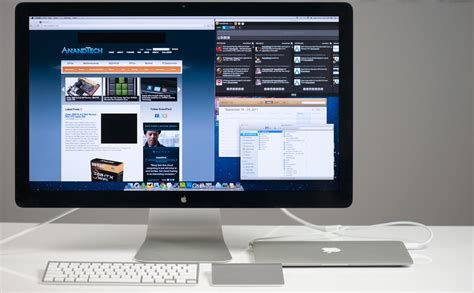 Thunderbolt Mac the apple thunderbolt display review