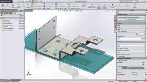 tutorial solidworks costing costing capabilities in solidworks 3d cad design
