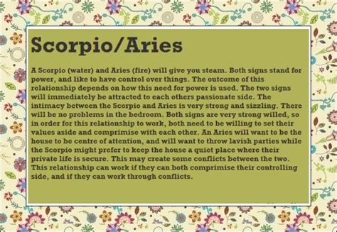 12 quotes about scorpio aries relationships scorpio quotes