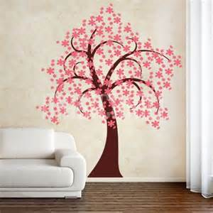 blossom tree wall stickers wall decals pretty blossom tree wall stickers