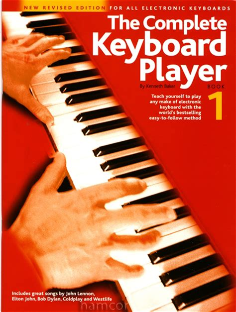 keyboard tutorial book the complete keyboard player book 1 kenneth baker learn