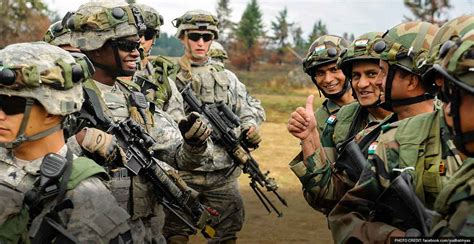 for soldiers for india us soldiers together working around
