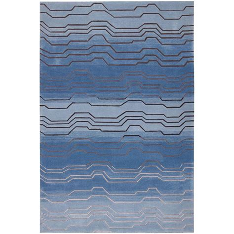 Area Rugs Overstock Nourison Overstock Contour Azure 5 Ft X 7 Ft 6 In Area Rug 046178 The Home Depot