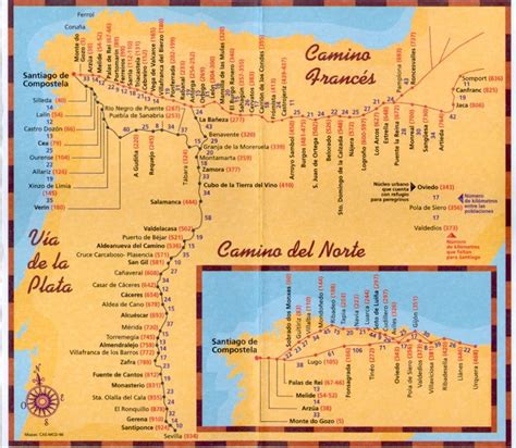 Camino De Santiago by Credencial Y Compostela Para El Camino De Santiago
