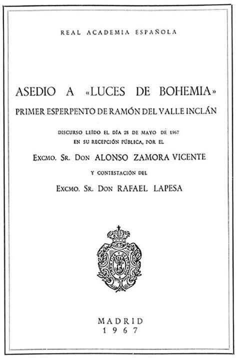 Cronología de Alonso Zamora Vicente - Alonso Zamora Vicente