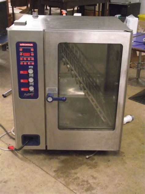 Oven With Rack by Secondhand Catering Equipment Electric Ovens Eloma