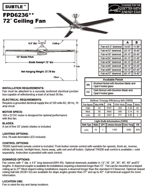 fanimation levon 63 inch brushed nickel ceiling fan fanimation fans subtle brushed nickel best free home