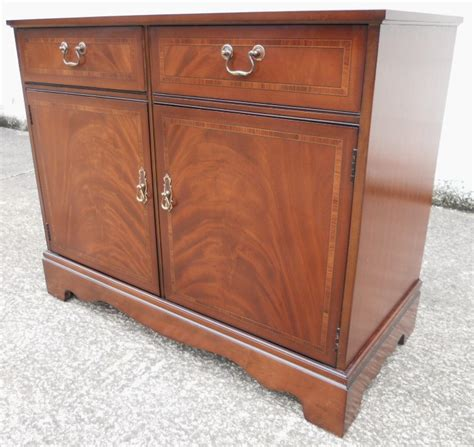 Small Mahogany Sideboard strongbow small mahogany sideboard base cabinet sold