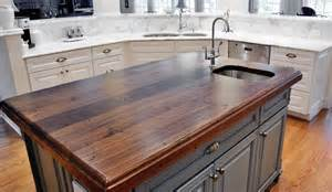Chicago Faucet Kitchen distressed black walnut heritage wood by mark binegar