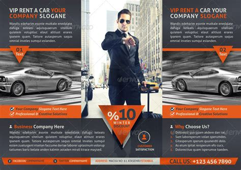 20 premium car flyer and print templates