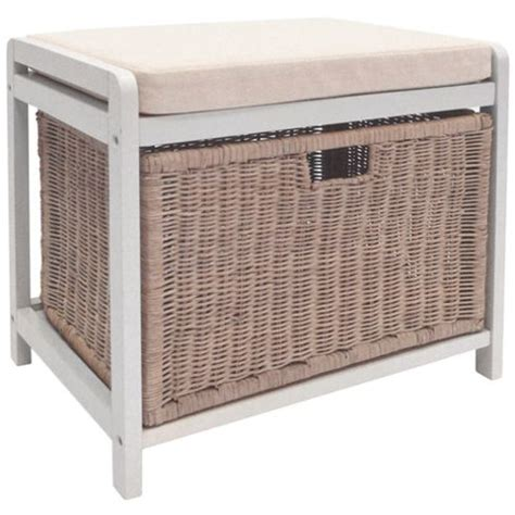 Buy Wicklow Laundry Her Storage Stool White Laundry Stool