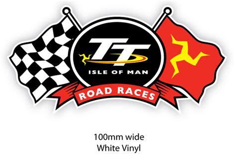 Iom Tt 2016 Original T Shirt Tt Logo Wings Black tt flags sticker isle of tt official shop