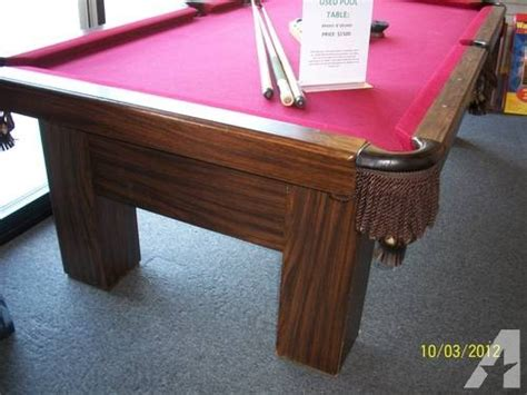 8 used slate pool table for sale in springfield missouri