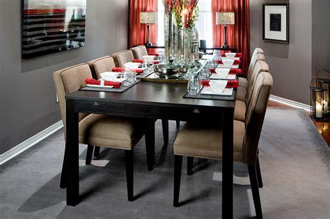 grey dining room jane lockhart gray red dining room modern dining room