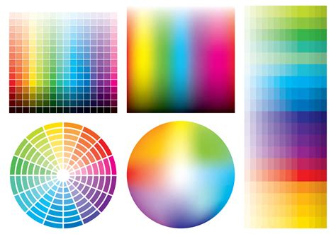 color samples   vector art stock graphics