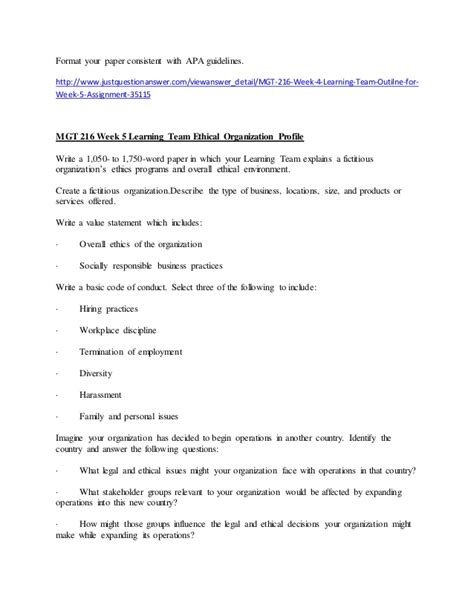 apa format university of phoenix university of phoenix mgt 216 homework help