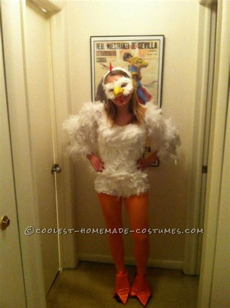 cutest homemade chicken costume  womenthis website