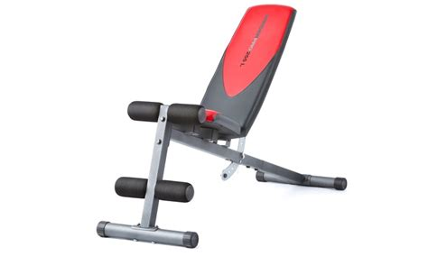 weider exercise bench weider 255l workout bench groupon goods