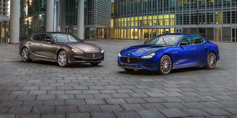 maserati sedan 2018 2018 maserati ghibli granlusso gransport refreshed sedan