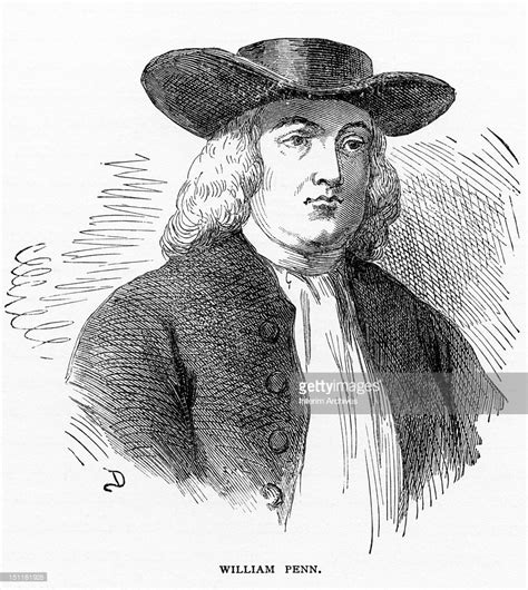 Penn Search Portrait Of Quaker And Reformer William Penn 1644 1718 Founder Of The