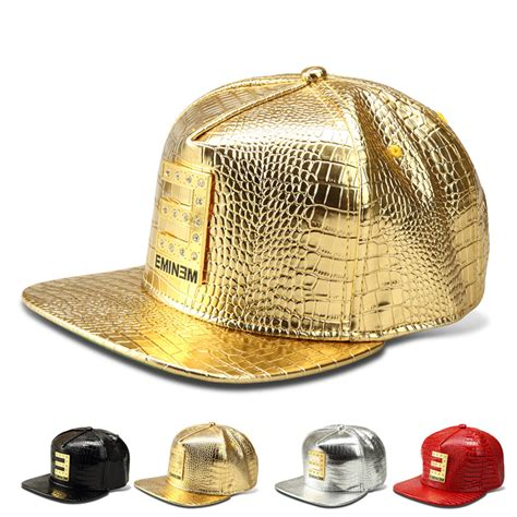 Topi Leather Faux gold logo snapback reviews shopping gold logo snapback reviews on aliexpress