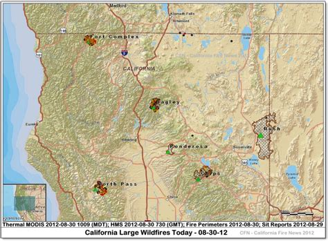 san jose fires map cfn california news cal news 8 1 12