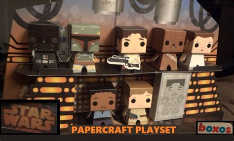 Papercraft Wars - wars papercraft playset