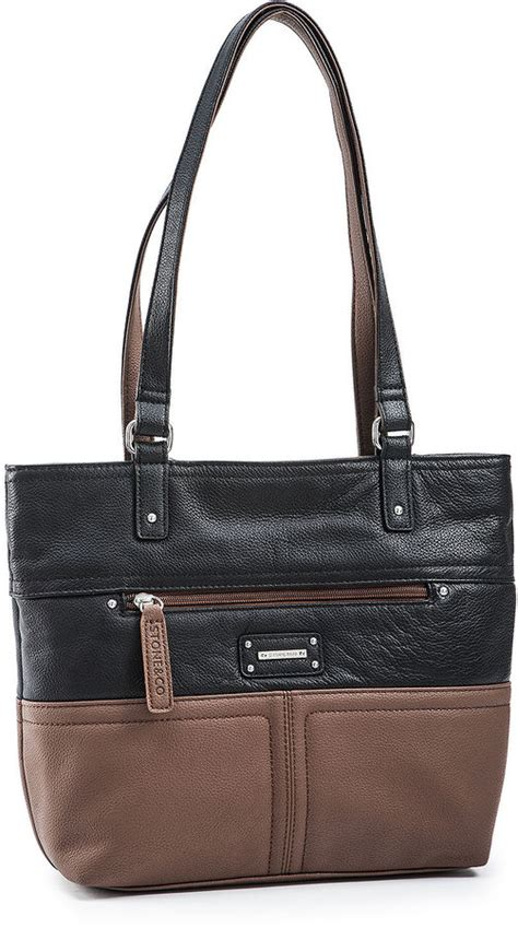 jcpenney and co co donna leather tote