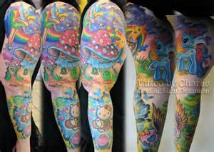 colorful sleeve by gettattoo on deviantart