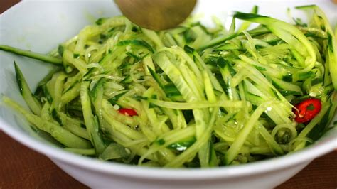 cold cucumber soup side dish oi naengguk recipe