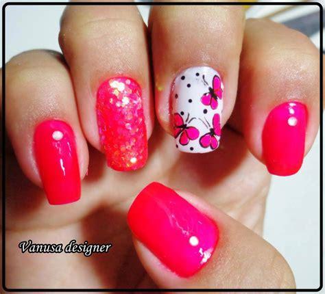 imagenes de uñas pintadas con mariposas imagenes dise 241 os de faciles de u 241 as 2015